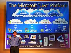 microsoft-live-platform