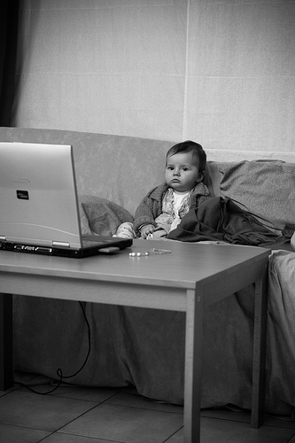 baby-tv-computer-on-the-couch